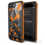 Чехол X-doria Defense Shield для Apple iPhone 7 plus (Orange Camo, маталлический)