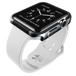 Чехол X-doria Defense Edge для Apple Watch 38 мм (темно-серый, маталлический)