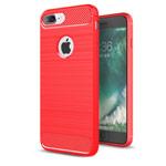 Чехол Yotrix Rugged Armor для Apple iPhone 7 plus (красный, гелевый)