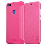 Чехол Nillkin Sparkle Leather Case для Huawei P10 lite (розовый, винилискожа)