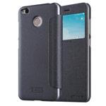 Чехол Nillkin Sparkle Leather Case для Xiaomi Redmi 4X (темно-серый, винилискожа)