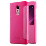 Чехол Nillkin Sparkle Leather Case для Xiaomi Redmi Note 4X (розовый, винилискожа)