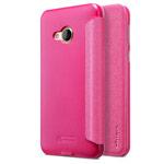 Чехол Nillkin Sparkle Leather Case для HTC U Play (розовый, винилискожа)