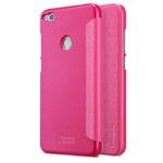 Чехол Nillkin Sparkle Leather Case для Huawei P8 lite 2017 (розовый, винилискожа)