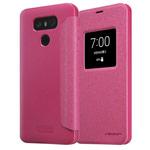 Чехол Nillkin Sparkle Leather Case для LG G6 (розовый, винилискожа)
