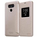 Чехол Nillkin Sparkle Leather Case для LG G6 (золотистый, винилискожа)