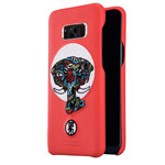 Чехол Nillkin Brocade Case для Samsung Galaxy S8 (красный, кожаный)