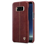 Чехол Nillkin Englon Leather Cover для Samsung Galaxy S8 (коричневый, кожаный)
