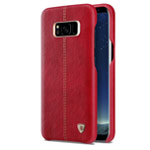 Чехол Nillkin Englon Leather Cover для Samsung Galaxy S8 plus (красный, кожаный)