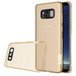 Чехол Nillkin Nature case для Samsung Galaxy S8 (золотистый, гелевый)