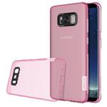 Чехол Nillkin Nature case для Samsung Galaxy S8 (розовый, гелевый)