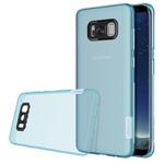 Чехол Nillkin Nature case для Samsung Galaxy S8 (голубой, гелевый)