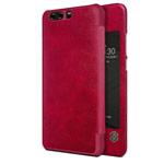 Чехол Nillkin Qin leather case для Huawei P10 plus (красный, кожаный)