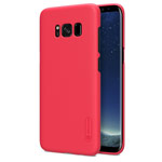 Чехол Nillkin Hard case для Samsung Galaxy S8 (красный, пластиковый)