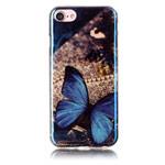 Чехол Yotrix CreativeCase для Apple iPhone 7 (Blue Butterfly, гелевый)