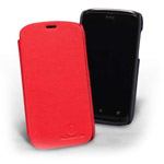 Чехол Nillkin Side leather case для HTC Desire V T328w/Desire X T328e (черный, кожанный)
