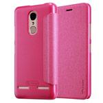 Чехол Nillkin Sparkle Leather Case для Lenovo K6 Power (розовый, винилискожа)