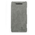 Чехол Nillkin Tree-texture Leather Case для HTC Windows Phone 8X (серый, кожанный)
