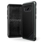 Чехол X-doria Defense Lux для Samsung Galaxy S8 plus (Black Carbon, маталлический)