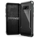 Чехол X-doria Defense Shield для Samsung Galaxy S8 (черный, маталлический)