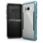 Чехол X-doria Defense Shield для Samsung Galaxy S8 (голубой, маталлический)
