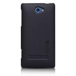 Чехол Nillkin Hard case для HTC Windows Phone 8S (черный, пластиковый)