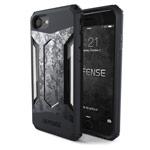 Чехол X-doria Defense Gear для Apple iPhone 7 (Grey Digital Camo, маталлический)