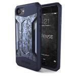 Чехол X-doria Defense Gear для Apple iPhone 7 (Blue Digital Camo, маталлический)