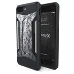 Чехол X-doria Defense Gear для Apple iPhone 7 plus (Grey Digital Camo, маталлический)