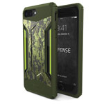 Чехол X-doria Defense Gear для Apple iPhone 7 plus (Green Digital Camo, маталлический)