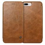 Чехол G-Case Business Series для Apple iPhone 7 plus (коричневый, кожаный)
