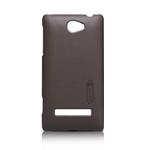 Чехол Nillkin Hard case для HTC Windows Phone 8S (коричневый, пластиковый)