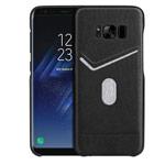 Чехол G-Case Jazz Series для Samsung Galaxy S8 (черный, кожаный)