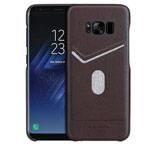 Чехол G-Case Jazz Series для Samsung Galaxy S8 (коричневый, кожаный)