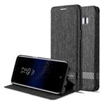 Чехол G-Case Funky Series для Samsung Galaxy S8 (темно-серый, матерчатый)