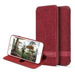 Чехол G-Case Funky Series для Apple iPhone 7 plus (красный, матерчатый)