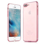 Чехол G-Case Ultra Slim Case для Apple iPhone 7 plus (розовый, гелевый)