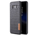 Чехол G-Case Dark Series для Samsung Galaxy S8 plus (Crocodile Skin, кожаный)