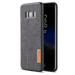 Чехол G-Case Dark Series для Samsung Galaxy S8 plus (Canvas, матерчатый)