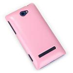 Чехол Nillkin Shining Shield для HTC Windows Phone 8S (розовый, пластиковый)
