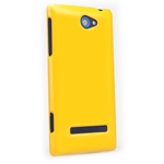 Чехол Nillkin Shining Shield для HTC Windows Phone 8S (желтый, пластиковый)