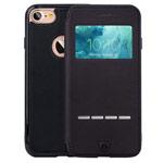 Чехол G-Case Sense Series для Apple iPhone 7 (черный, кожаный)
