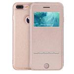 Чехол G-Case Sense Series для Apple iPhone 7 plus (золотистый, кожаный)