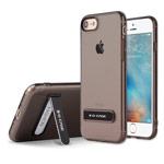 Чехол G-Case Honor Series для Apple iPhone 7 (серый, гелевый)