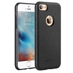 Чехол G-Case Duke Series для Apple iPhone 7 (черный, кожаный)
