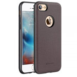 Чехол G-Case Duke Series для Apple iPhone 7 (коричневый, кожаный)