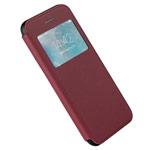 Чехол G-Case Duke Flip Series для Apple iPhone 7 plus (красный, кожаный)