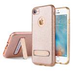 Чехол G-Case Sparking Series для Apple iPhone 7 (золотистый, гелевый)