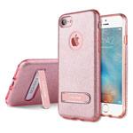 Чехол G-Case Sparking Series для Apple iPhone 7 (розовый, гелевый)