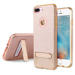 Чехол G-Case Sparking Series для Apple iPhone 7 plus (золотистый, гелевый)